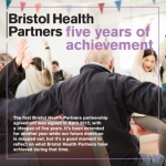 The cover of our Five Years of Achievement showcase